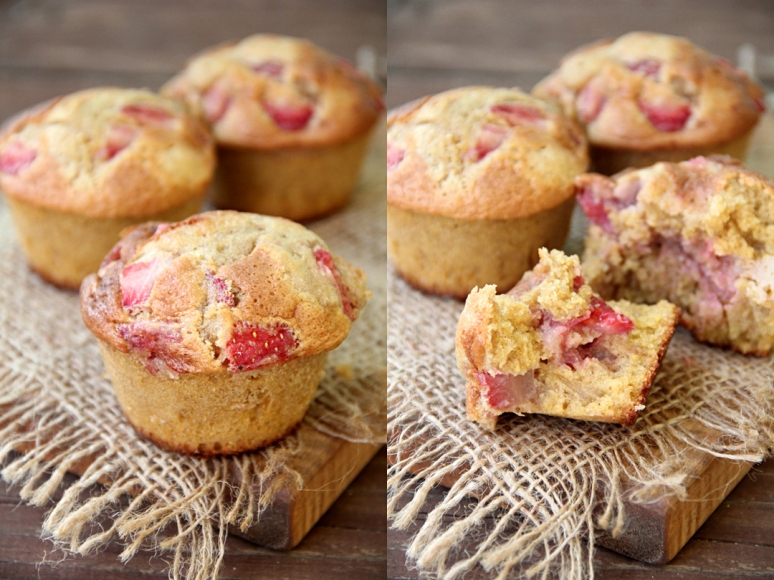 Strawberry-Maple Corn Muffins
